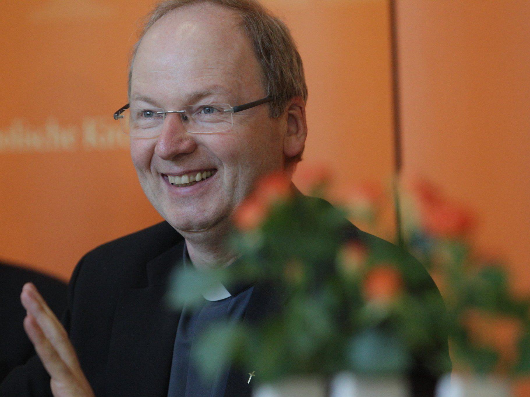 Benno Elbs wird am 30. Juni im Dom zu Feldkirch zum Bischof geweiht.