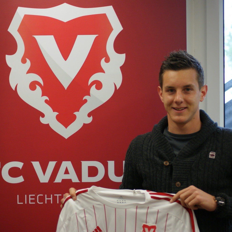 Der Wolfurter Manuel Sutter spielt ab der neuen Saison für den Liechtensteiner Klub FC Vaduz.