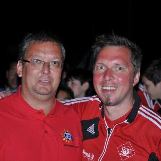 RW Präsident Uli Bischoff mit Vize Wolfgang Rützler waren mit dem Turnier in Italien hochzufrieden.
