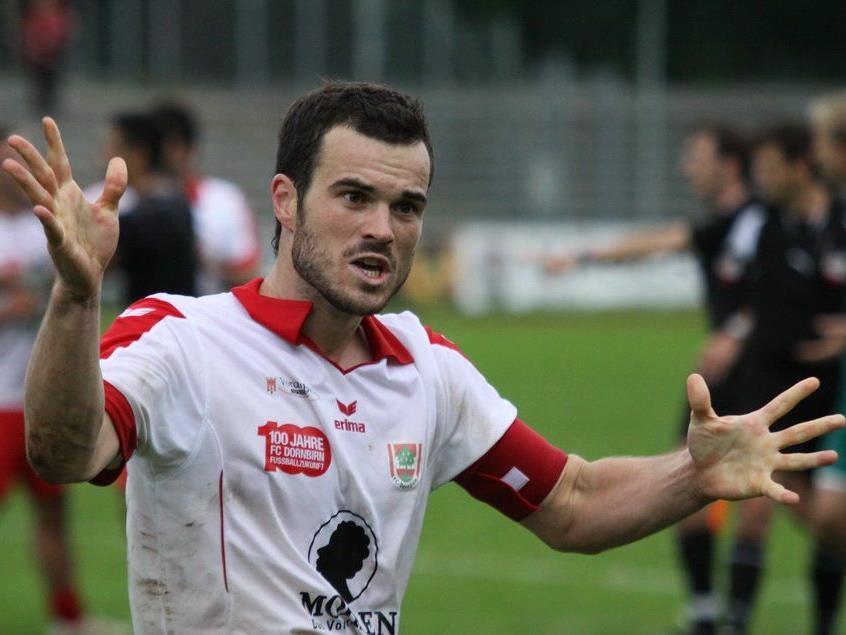 FC Dornbirn-Kapitän Johannes Hirschbühl kehrt gegen Andelsbuch zurück in die Startelf.