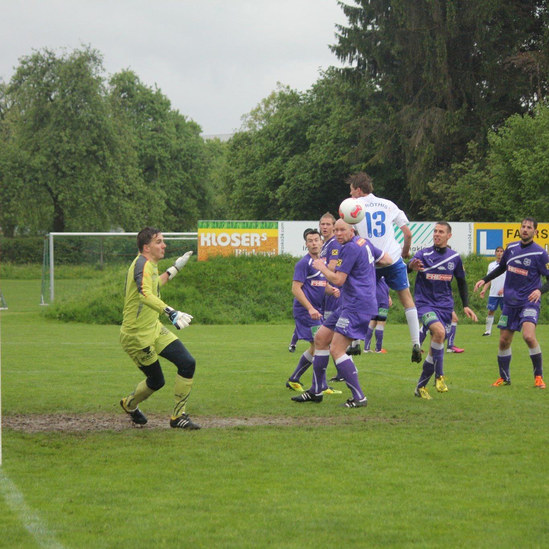 Viktoria Bregenz verlor gegen Röthis mit 0:3, Marcel Martin wurde schwer verletzt.