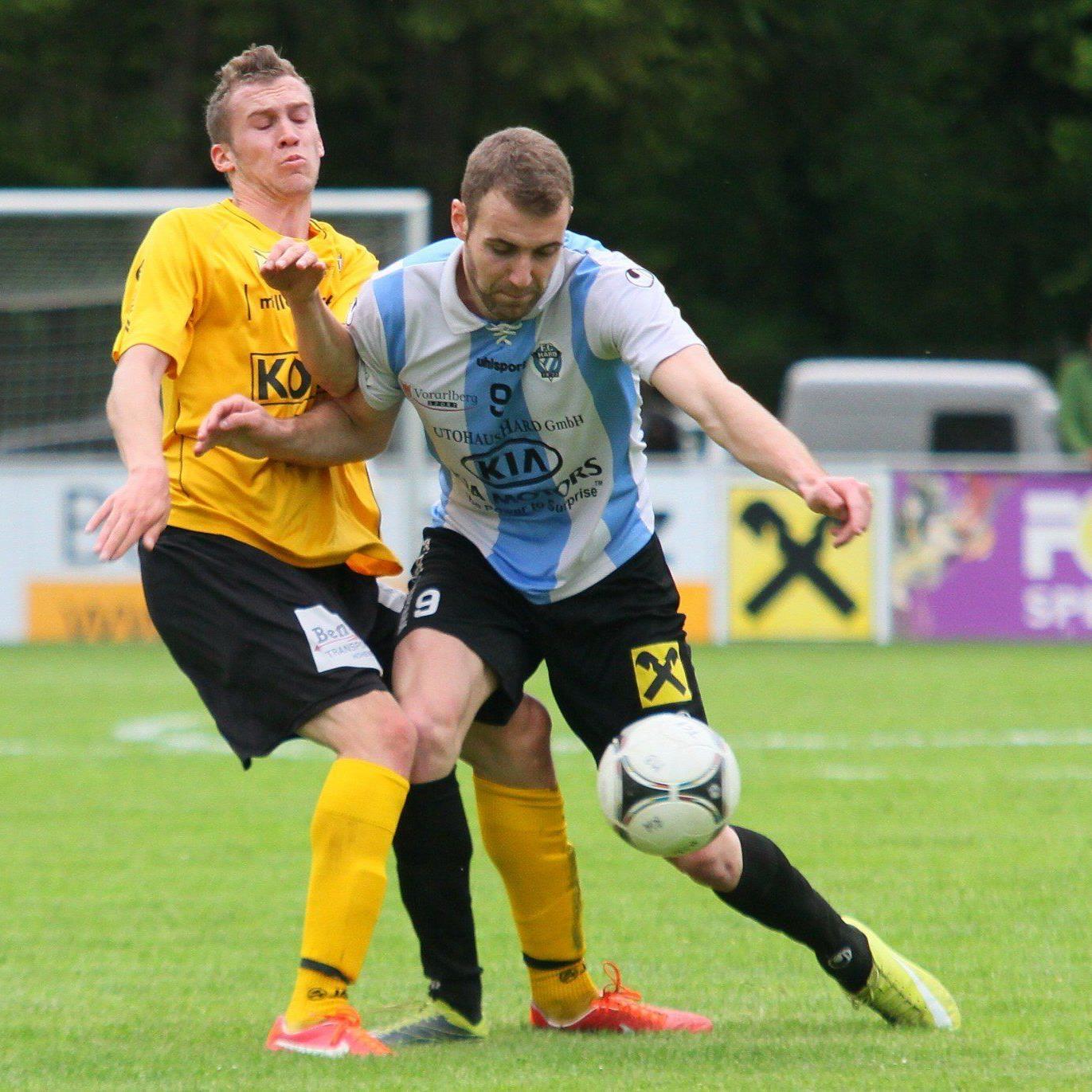 Hard-Torjäger Aleksandar Umjenovic spielt ab der neuen Saison für den FC Wolfurt.