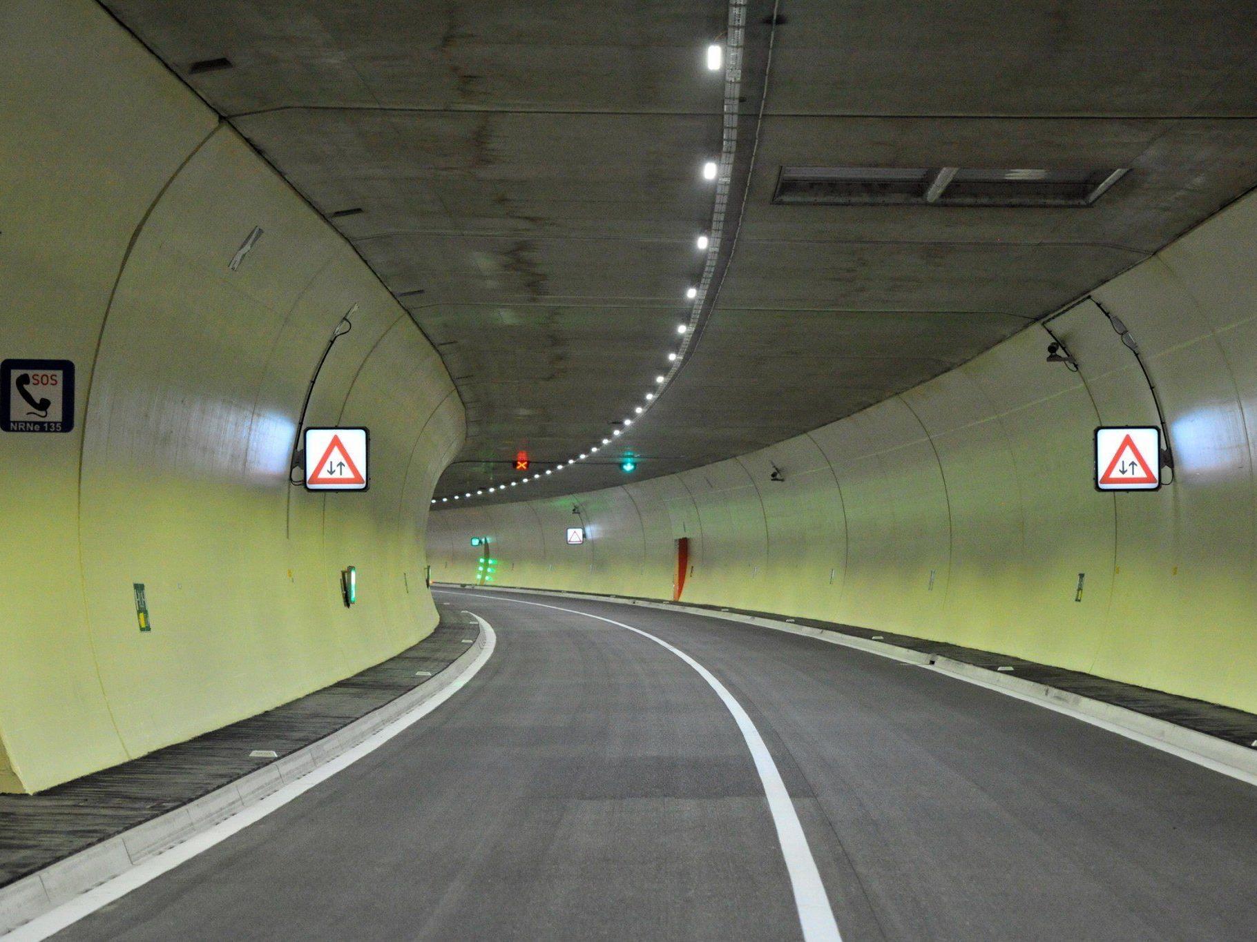 Anfang Juli wird der neue zweiröhrige Pfändertunnel offiziell in Betrieb genommen.
