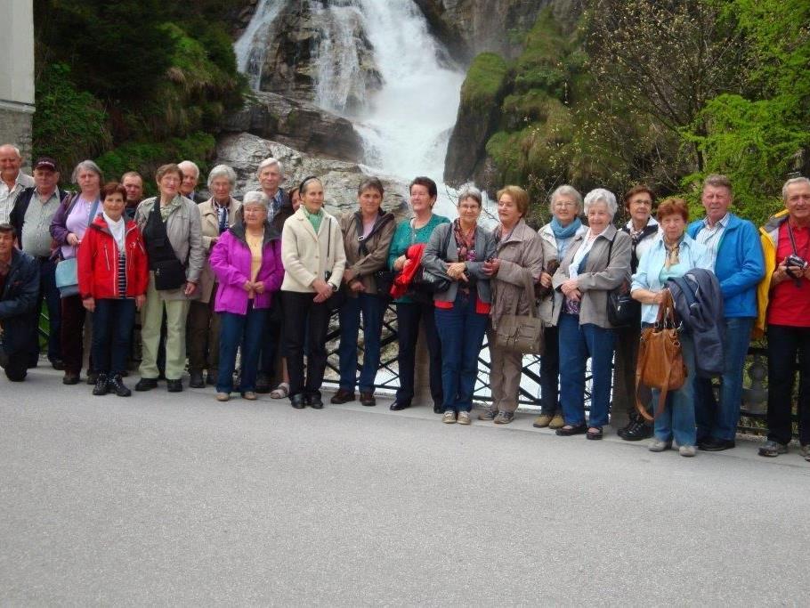 Eine sehr gelungene Frühlingsfahrt der Pensionisten aus Mittel- und Hinterwald