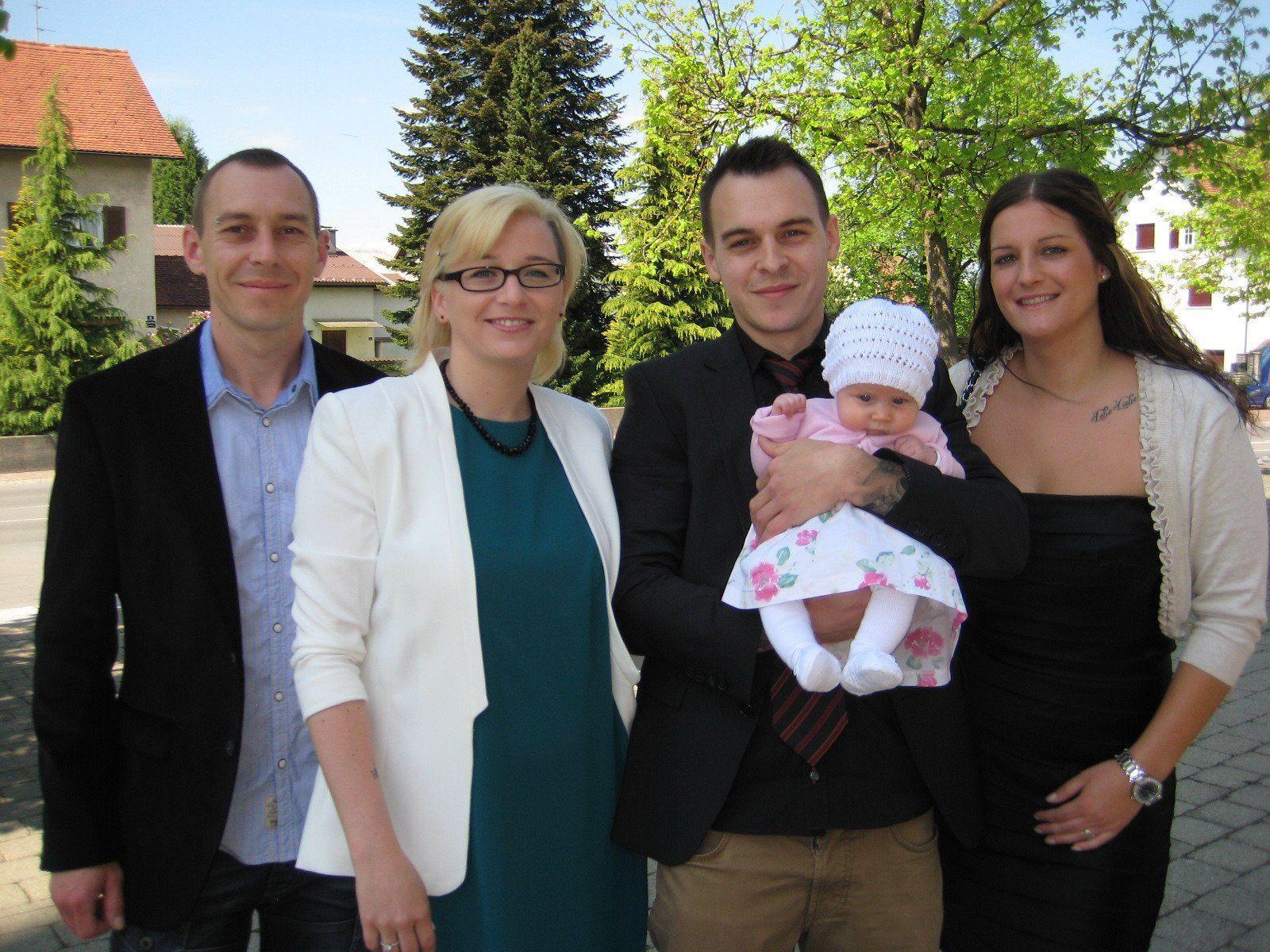 Laura Nachbaur wurde getauft.