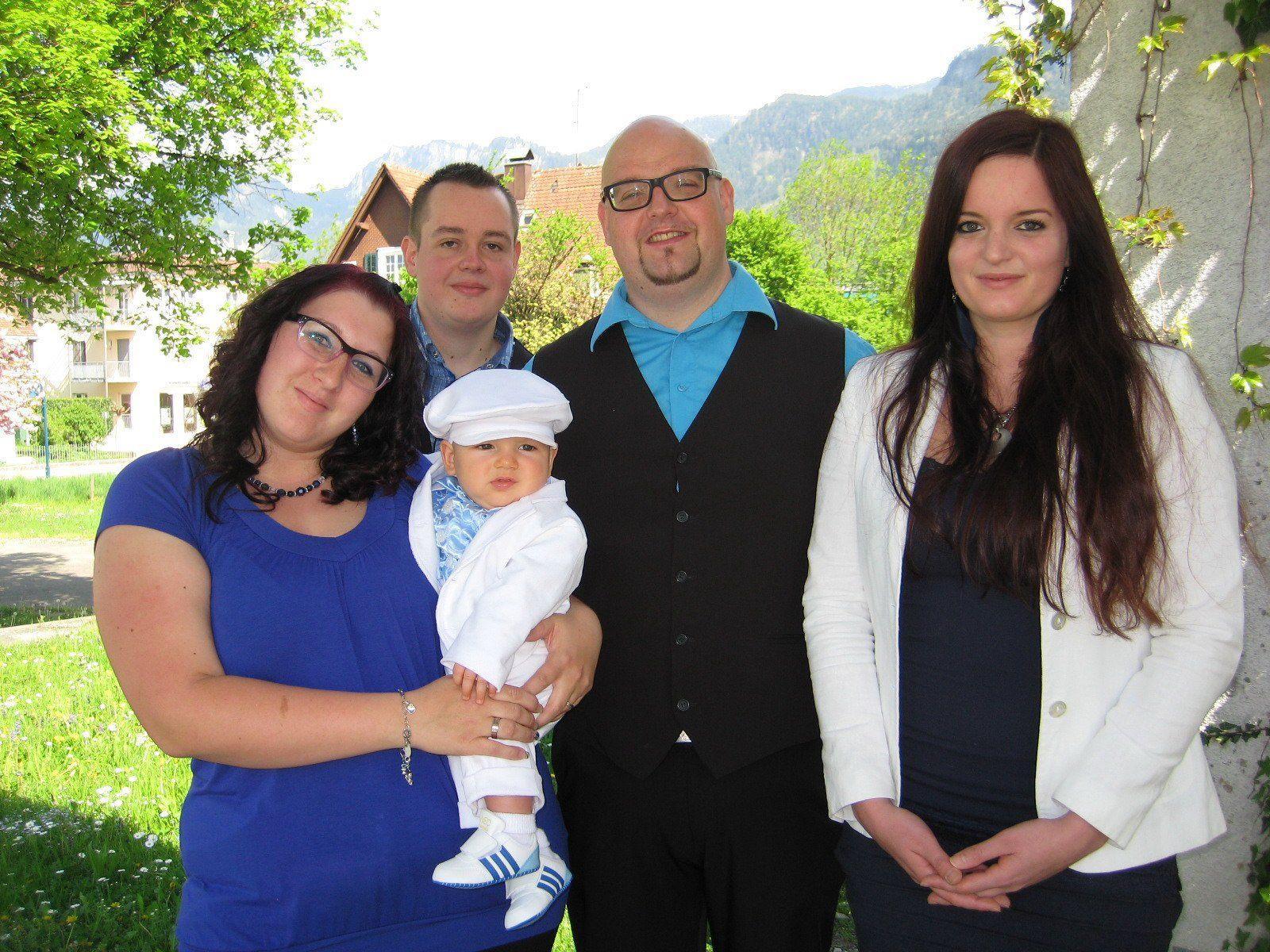 Luca Wetzlinger wurde getauft.