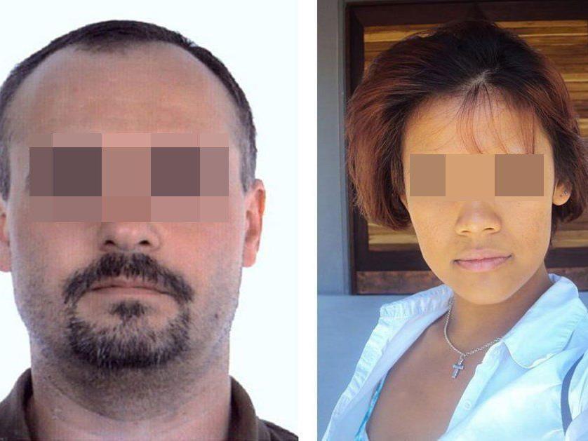 Claude D. (l.) zeigt sich der Entführung und des Mordes an der 19-jährigen Marie (r.) geständig.