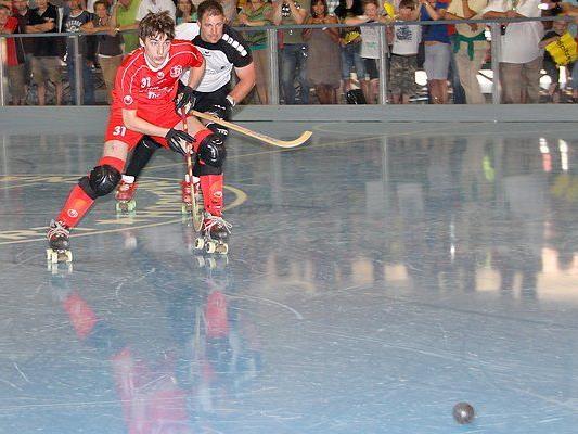Der RHC Wolfurt verlor in Dornbirn knapp mit 2:4-Toren.