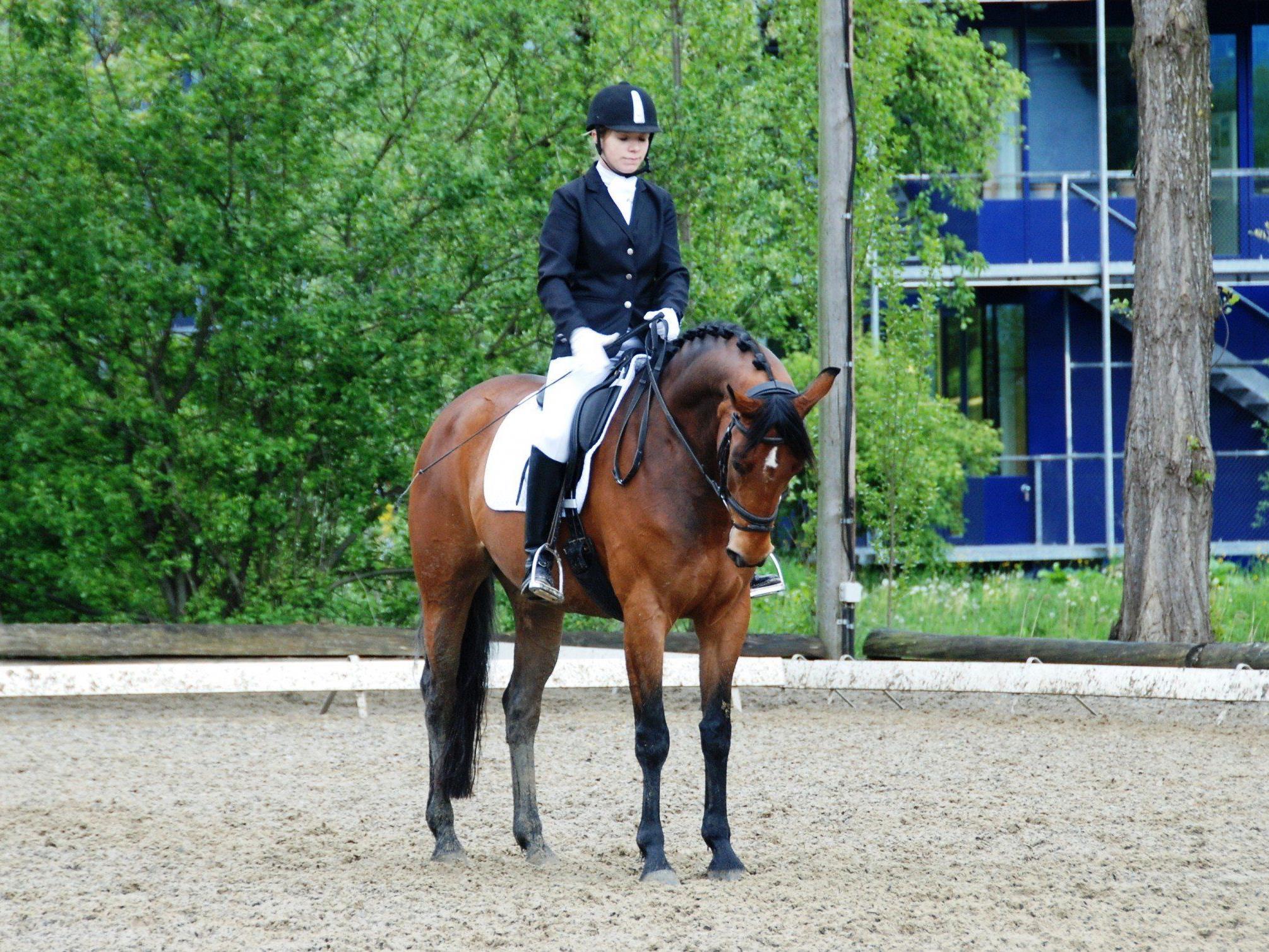 Sarah Hämmerle erreichte mit Rubina den ersten Platz.