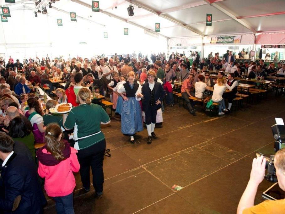 Auch dieses Jahr zog das Braureifest die Massen an.