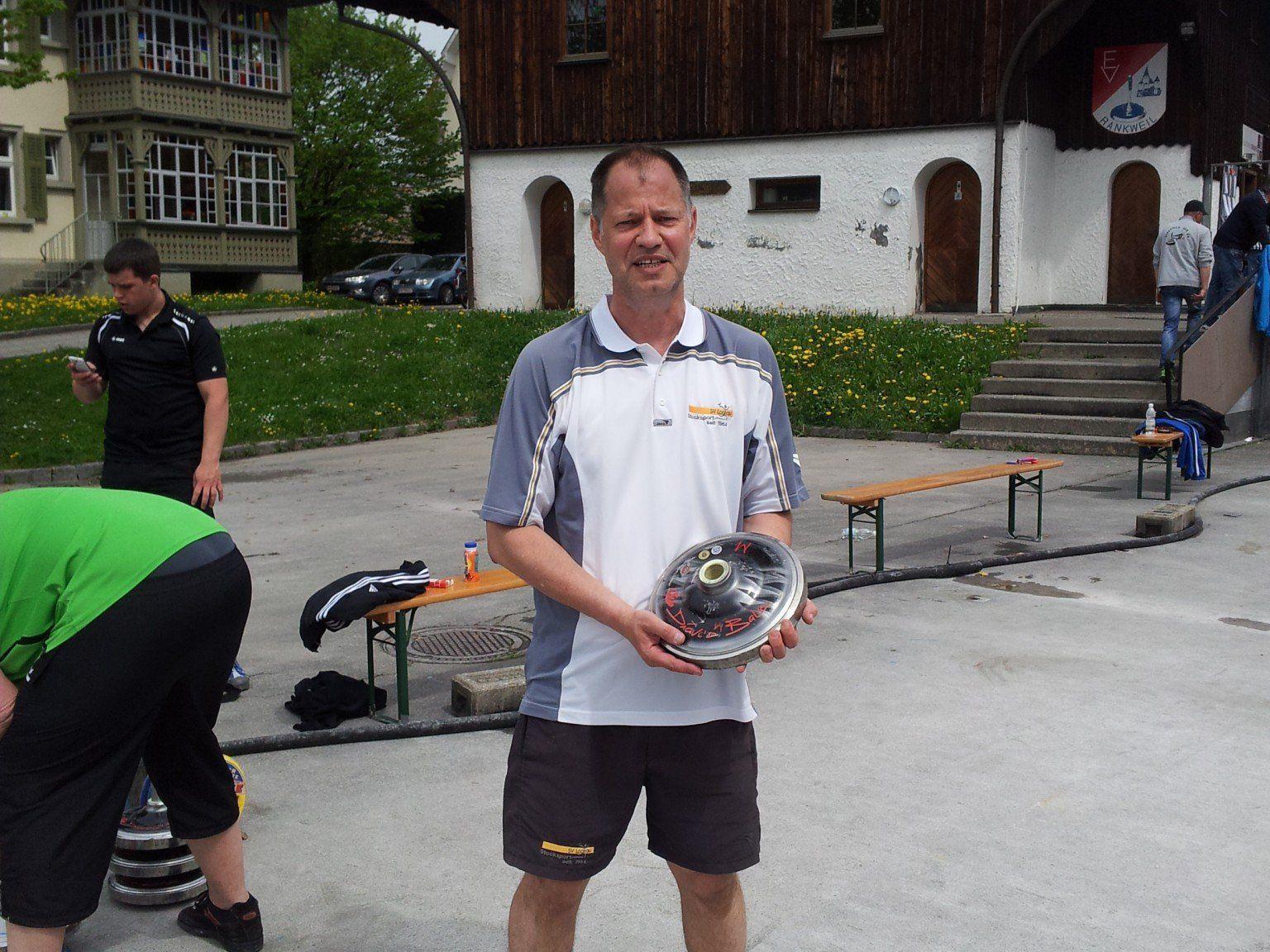 Der Gruppensieger: Christoph Sohm