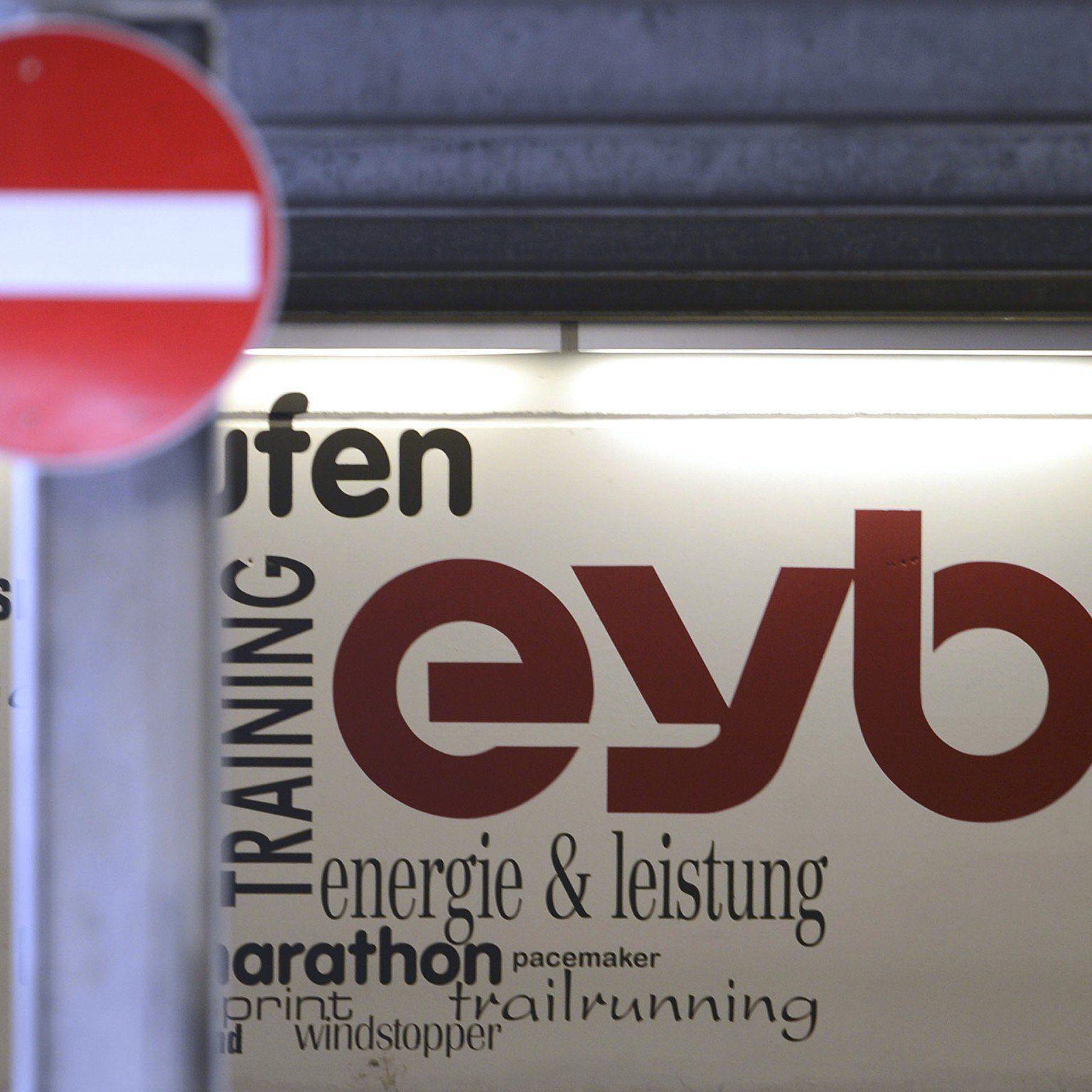 Inersport übernimmt seit 16. Mai keine Haftung mehr für Eybl.