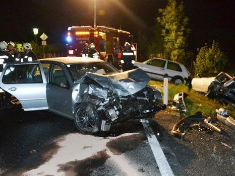 Glücklicherweise wurde niemand bei dem Unfall in Edlitz verletzt.