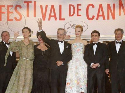 Großes Staraufgebot gab es am Mittwochabend im französischen Cannes.
