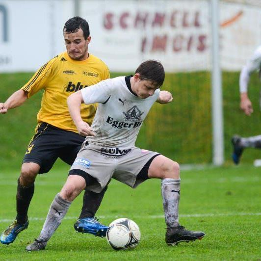 FC Egg gewinnt den Schlager gegen Höchst mit 1:0 und ist neuer Tabellenführer der V-Liga.