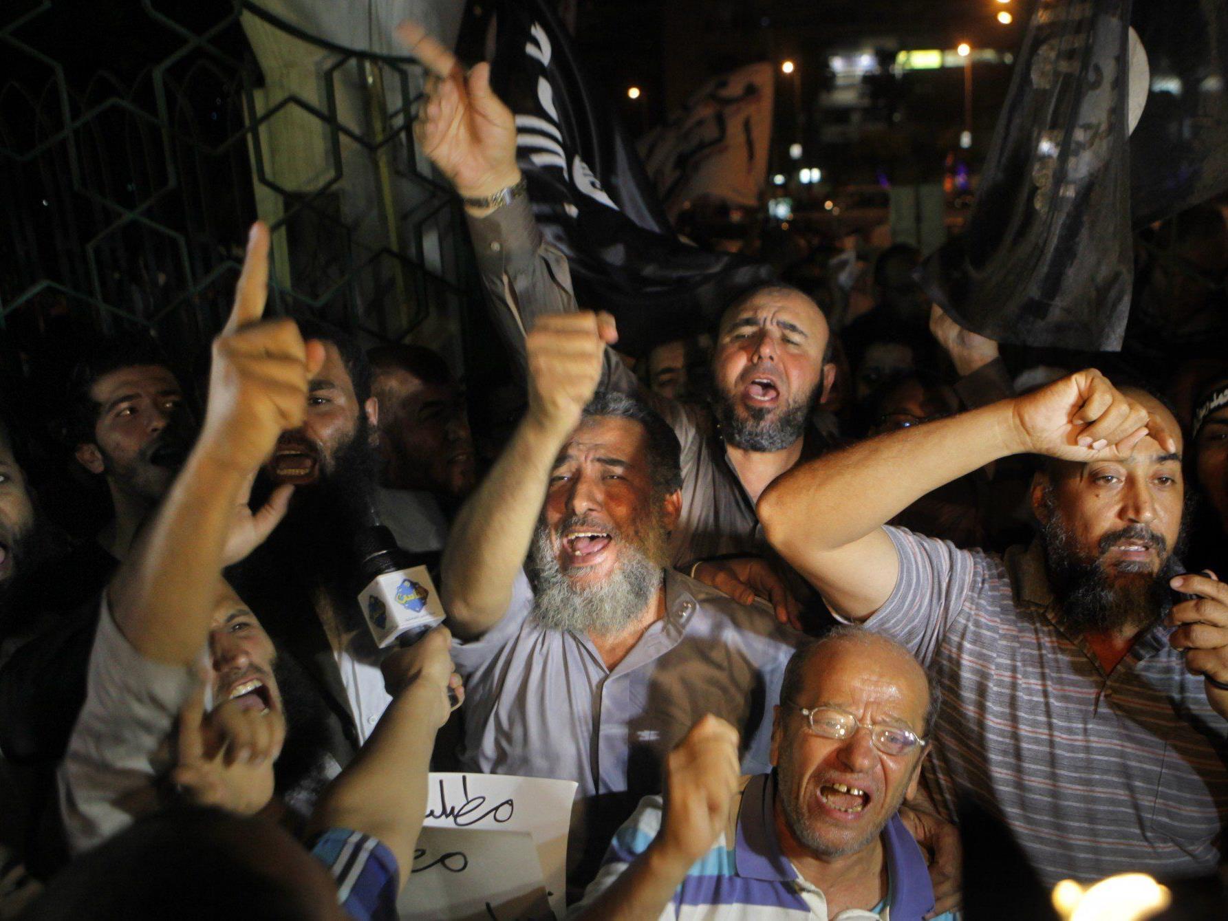 Die Spannungen in Ägypten nehmen wieder zu.