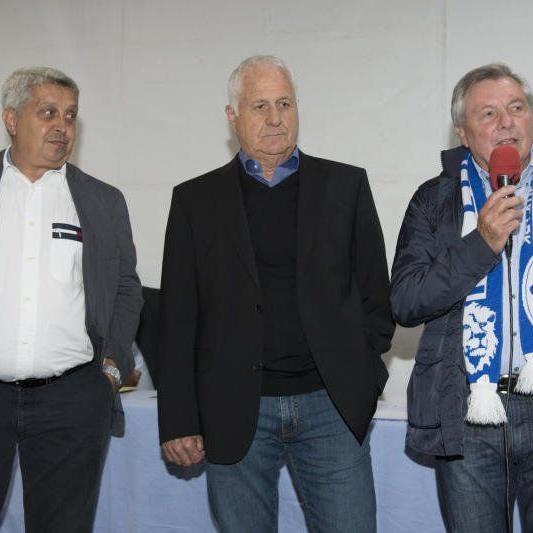 Neuer Vorstand: Kurt Isele, Ekkehart Hämmerle und Günther Kremmel (von links). Der Vierte im Bunde, Günter Fitz, ließ sich am Freitag entschuldigen.