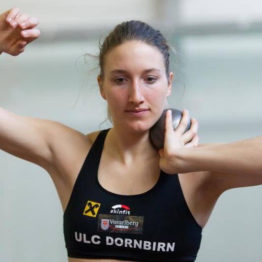 Die Dornbirnerin Raffaela Dorfer startet bei der 39. Auflage des Götzner Mehrkampfmeeting.