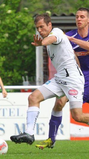 FC Egg-Kicker Philipp Hagspiel trifft mit seinen Kollegen auf den Tabellenführer Höchst.