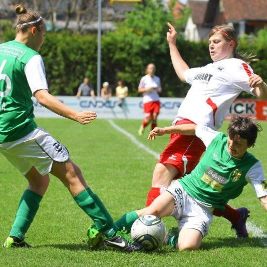 Die SPG FC Lustenau/Austria Lustenau gewann das Derby beim Tabellenführer Rankweil mit 2:1.