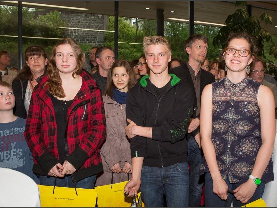 erfolgreiche Teilnehmer am Jugendwettbewerb