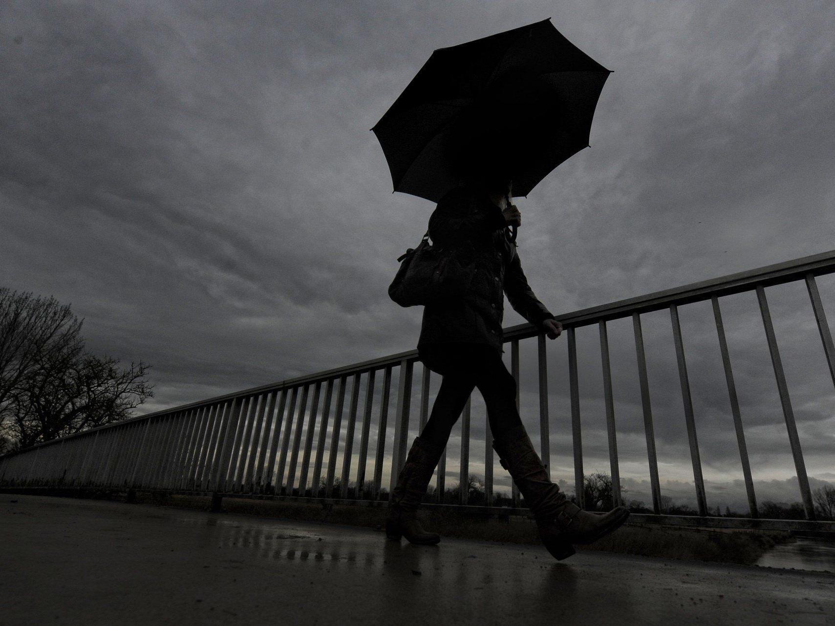 Starke Regenfälle in Vorarlberg erwartet - Muren- und Hochwassergefahr steigt.