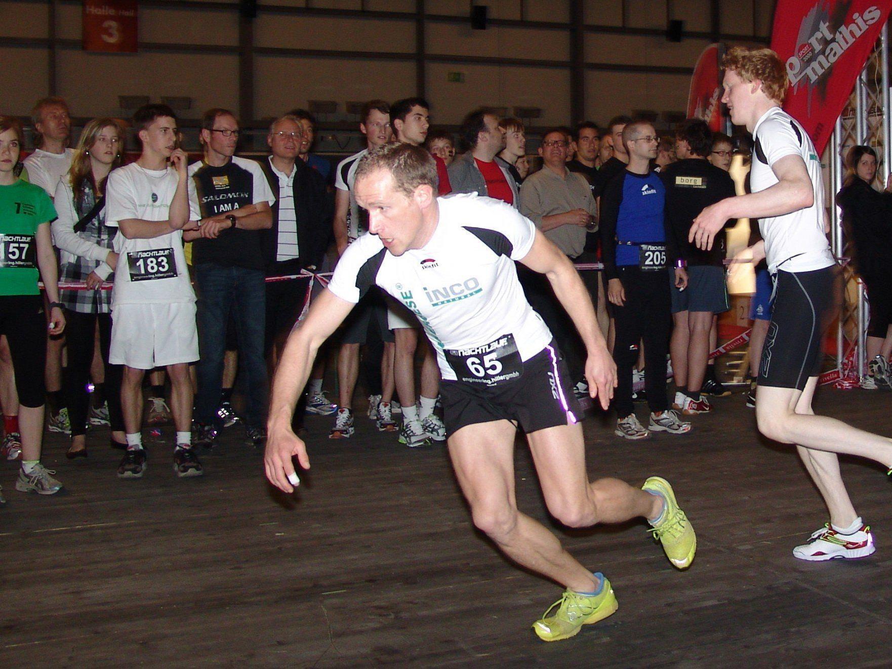 Der 12-Stunden-Nachtlauf in Dornbirn: die Herausforderung für alle, die gerne laufen.