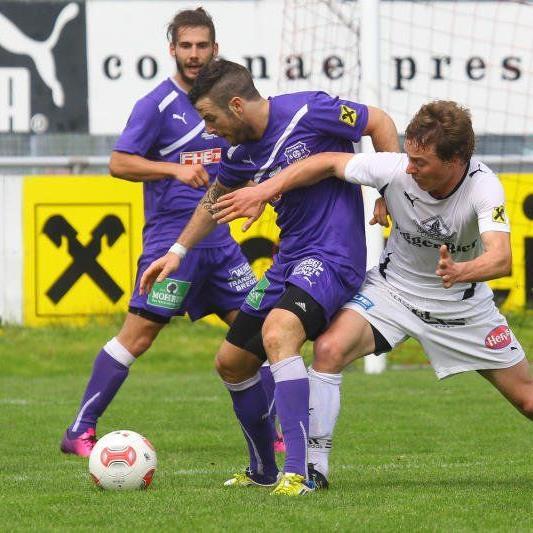 Egg-Kicker Elias Meusburger zählte beim 3:1-Auswärtssieg in Bregenz zu den stärksten Spielern.