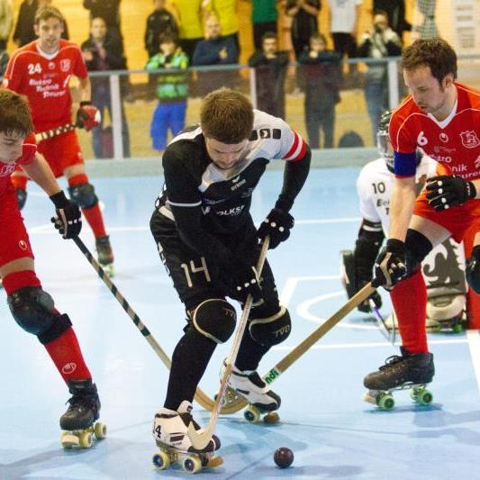 RHC Dornbirn gewann auch das Rückspiel in Wolfurt mit 3:2 Toren und bleibt die Ländle Nummer eins.