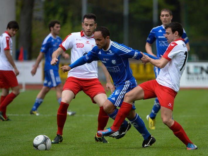 Andelsbuch-Spielertrainer Reinaldo Ribeiro gewann beim Exklub Dornbirn mit 1:0.