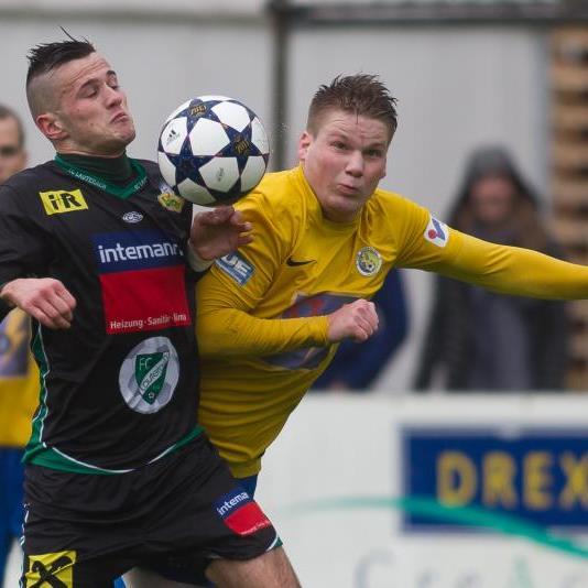 Lauterach gewinnt das Landesliga Topspiel gegen Hohenems mit 2:0.
