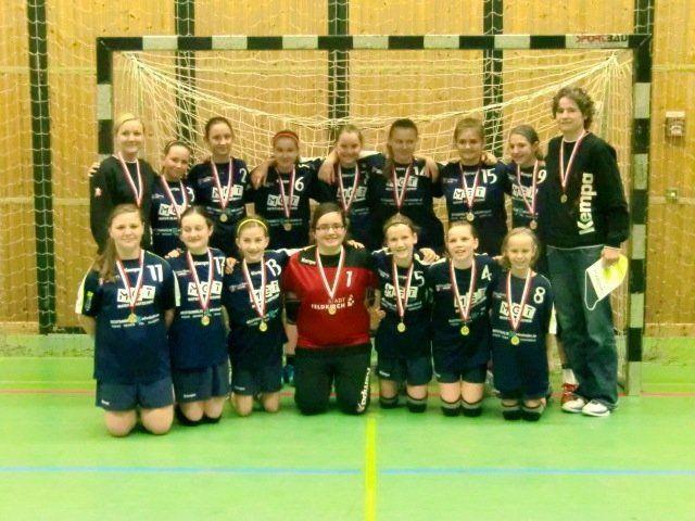 Die weibliche U-11-Mannschaft des HC BW Feldkirch wurde Meister.