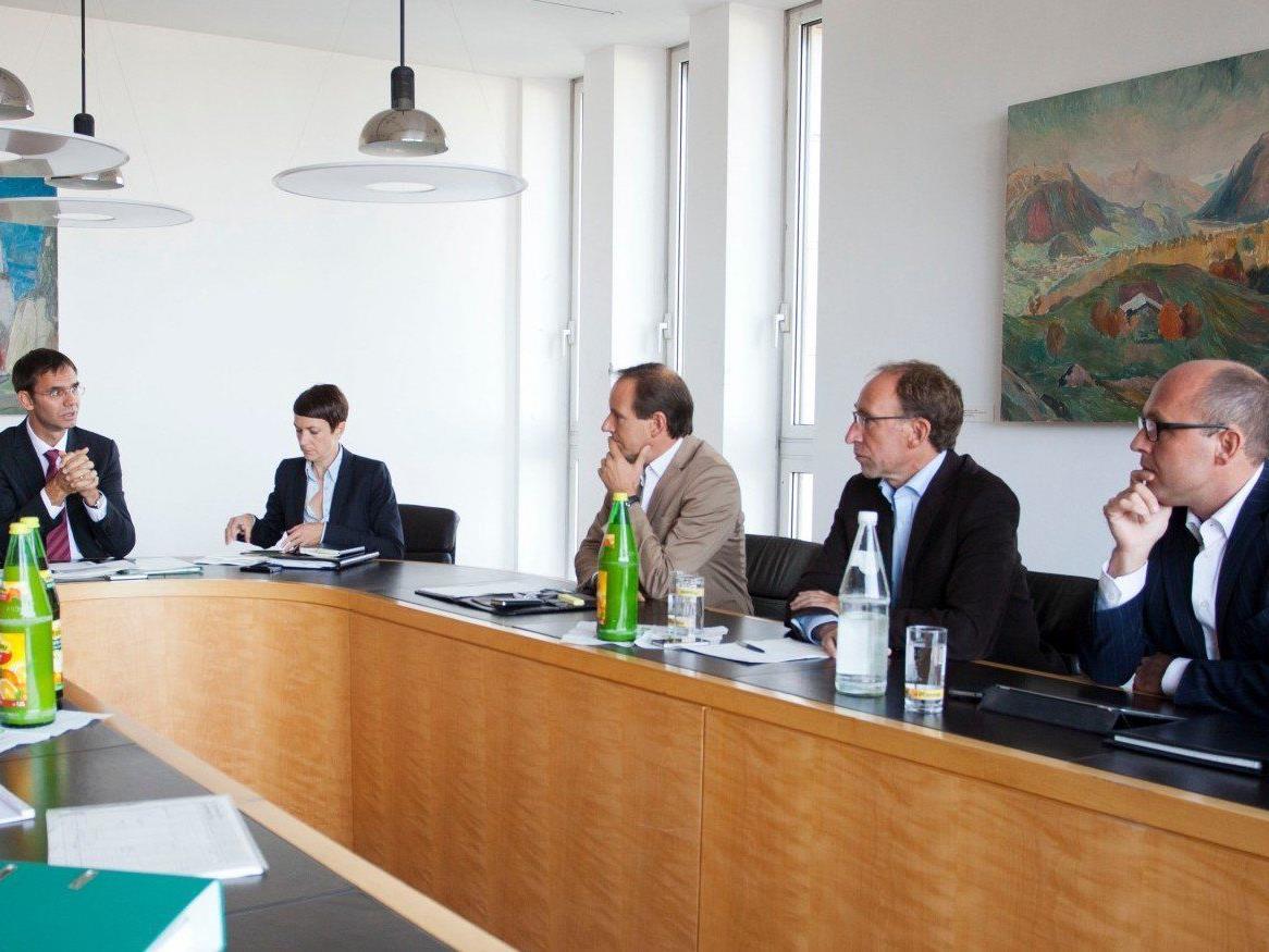 Über die Auswirkungen auf die NR-Wahl sind die Ländle-Klubchefs (hier bei der Budget-Besprechung im Herbst 2012) geteilter Meinung.