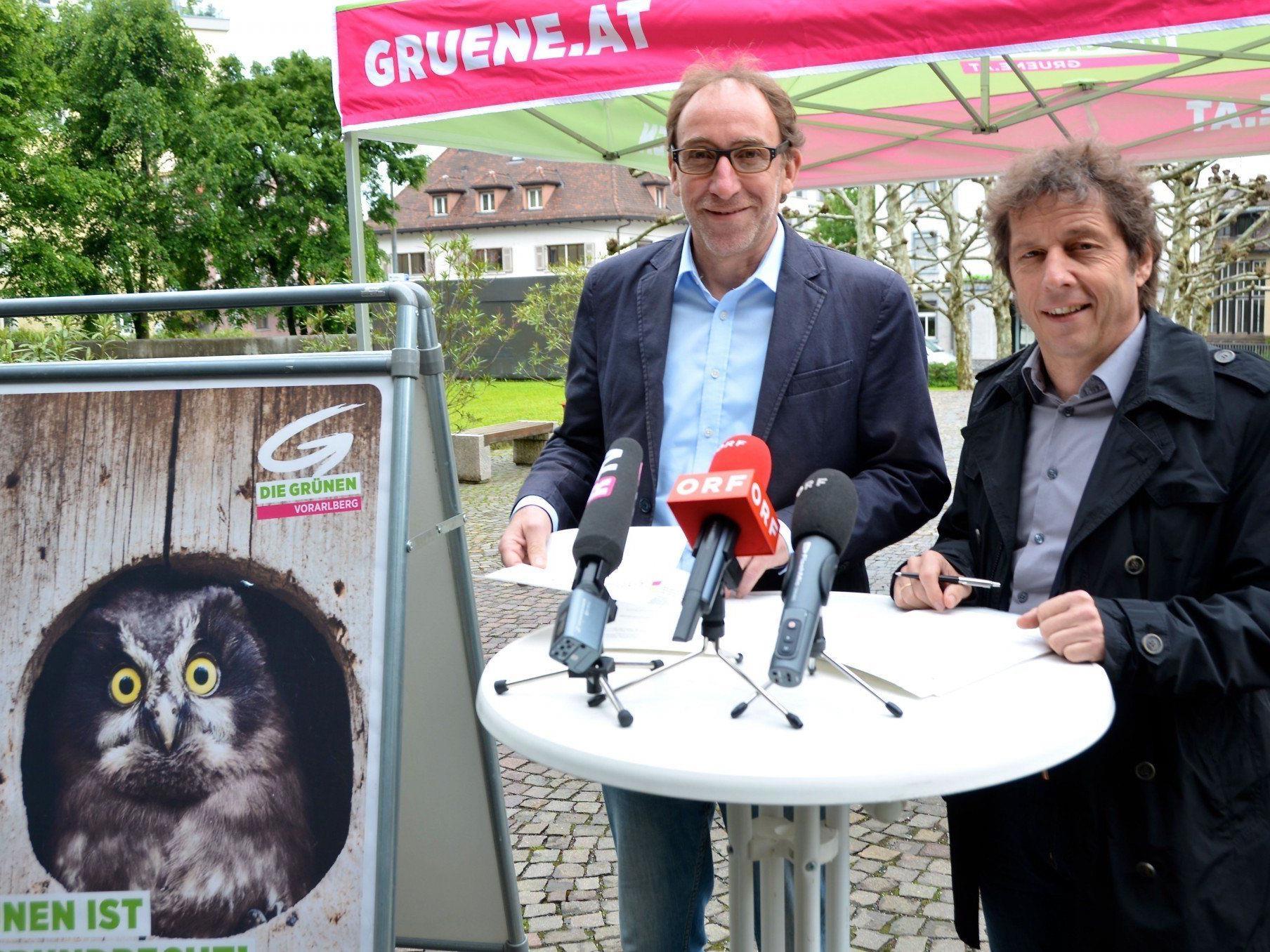Die Vorarlberger Grünen haben am Montag ein Maßnahmenpaket für leistbares Wohnen präsentiert.