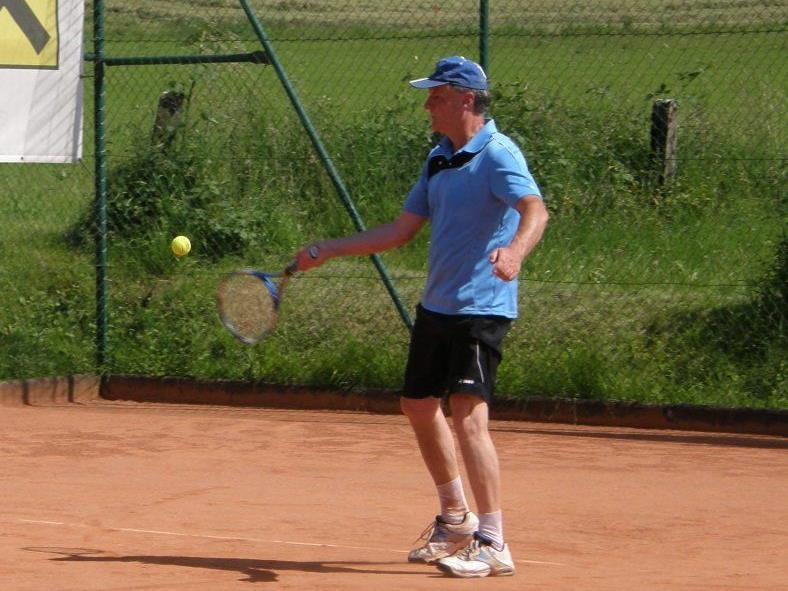 Gerhard Meyer vom Team Herren 35+