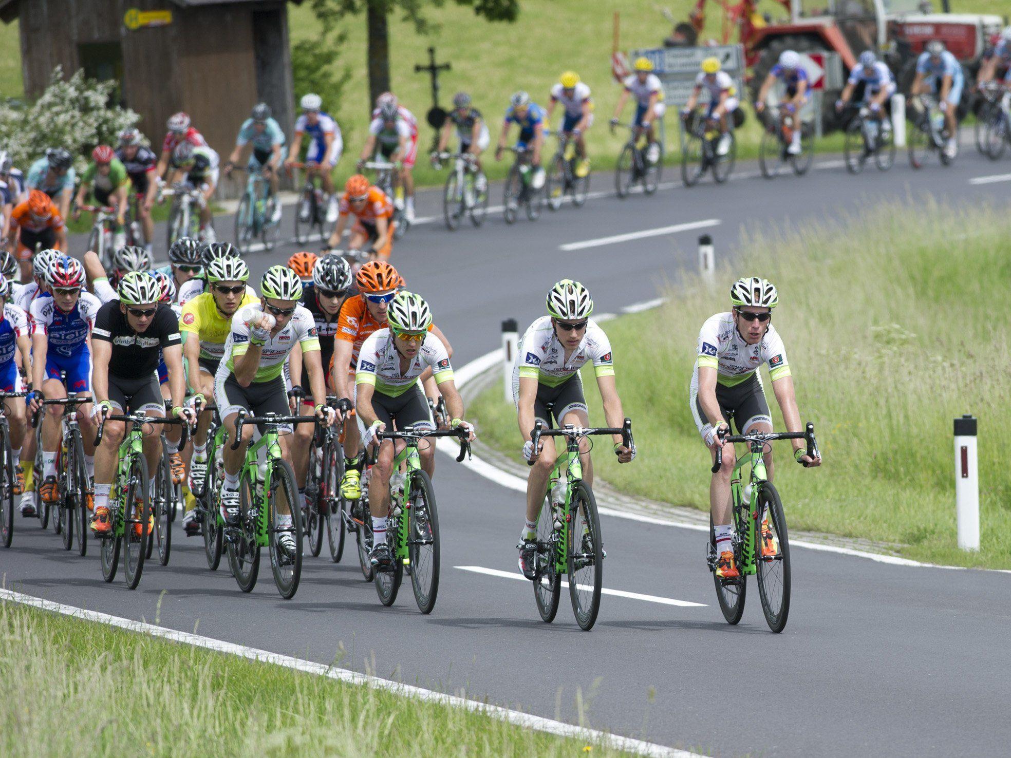 Florian Bissinger wird Gesamt-Fünfter bei der OÖ-Tour und holt wichtige UCI-Punkte.
