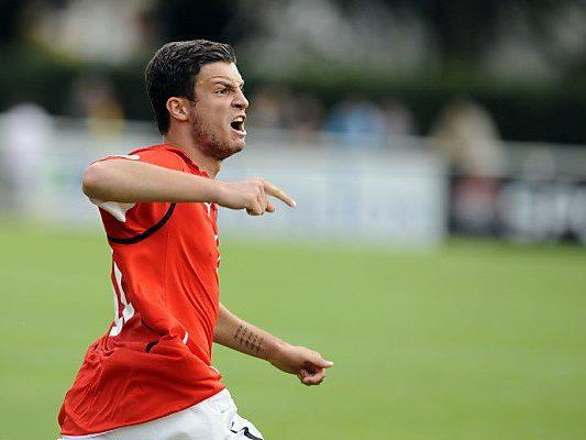 Marco Djuricin ist ÖFB-U21-Teamspieler