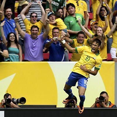 Neymar erzielte das Führungstor