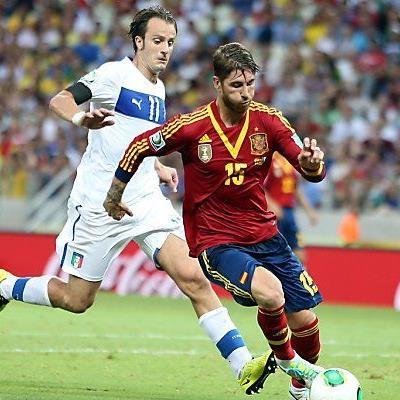 Spanien setzte sich schließlich doch durch