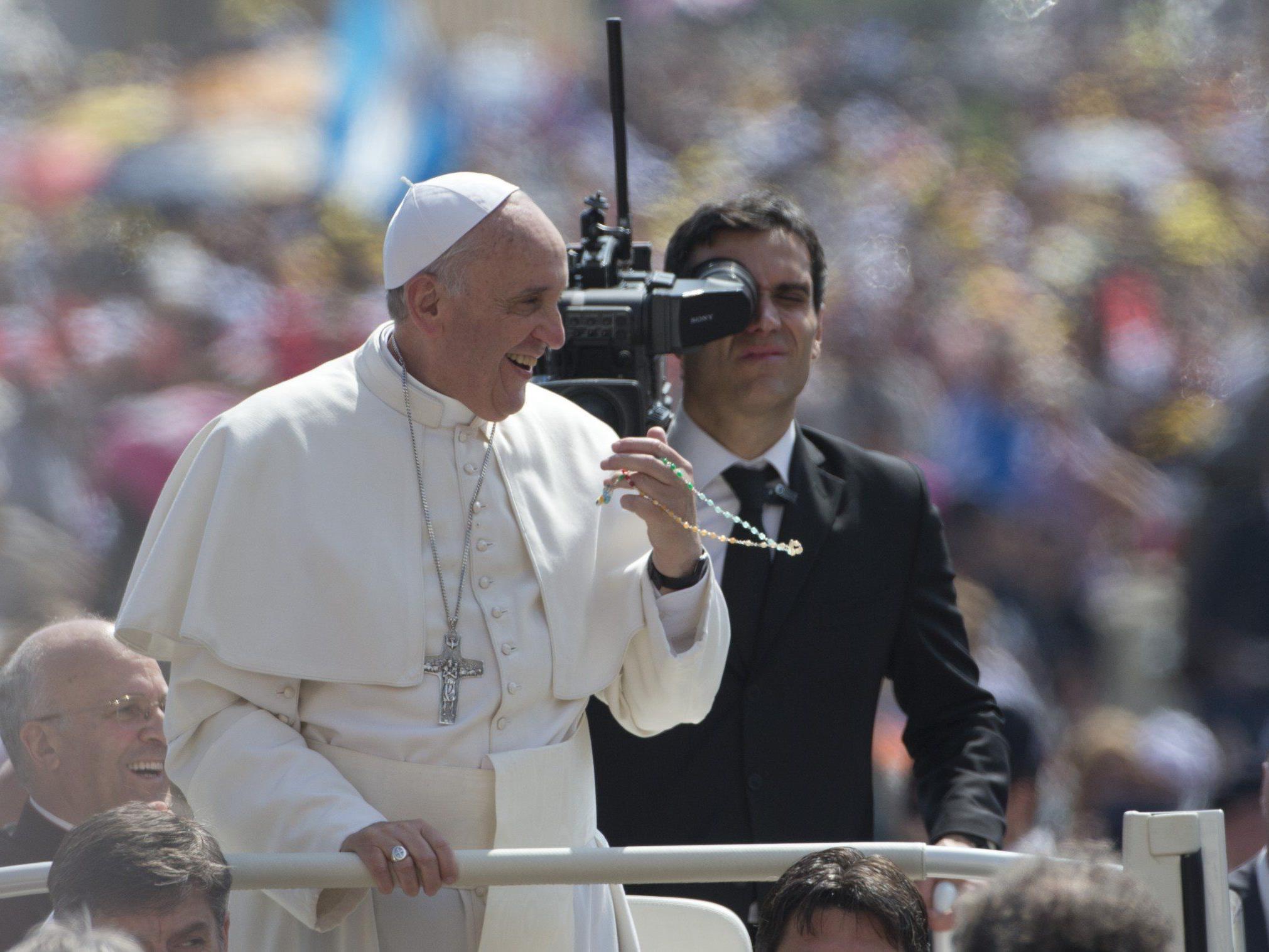 """Papst Franziskus: """"Auch Petrus hatte kein Bankkonto."""""""
