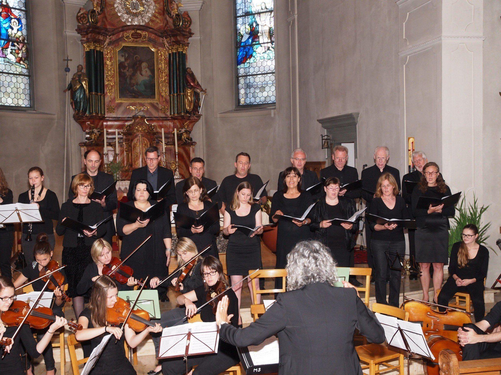 Ausgezeichnetes Konzert in der Wallfahrtskirche.