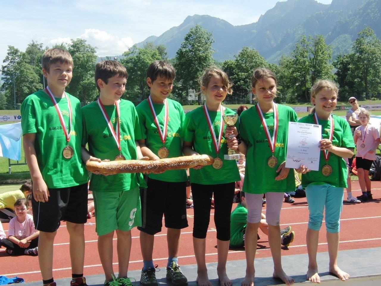 Beachtliche Leistungen erbrachten die Kids bei der 4. VS Olympiade im Möslestadion.