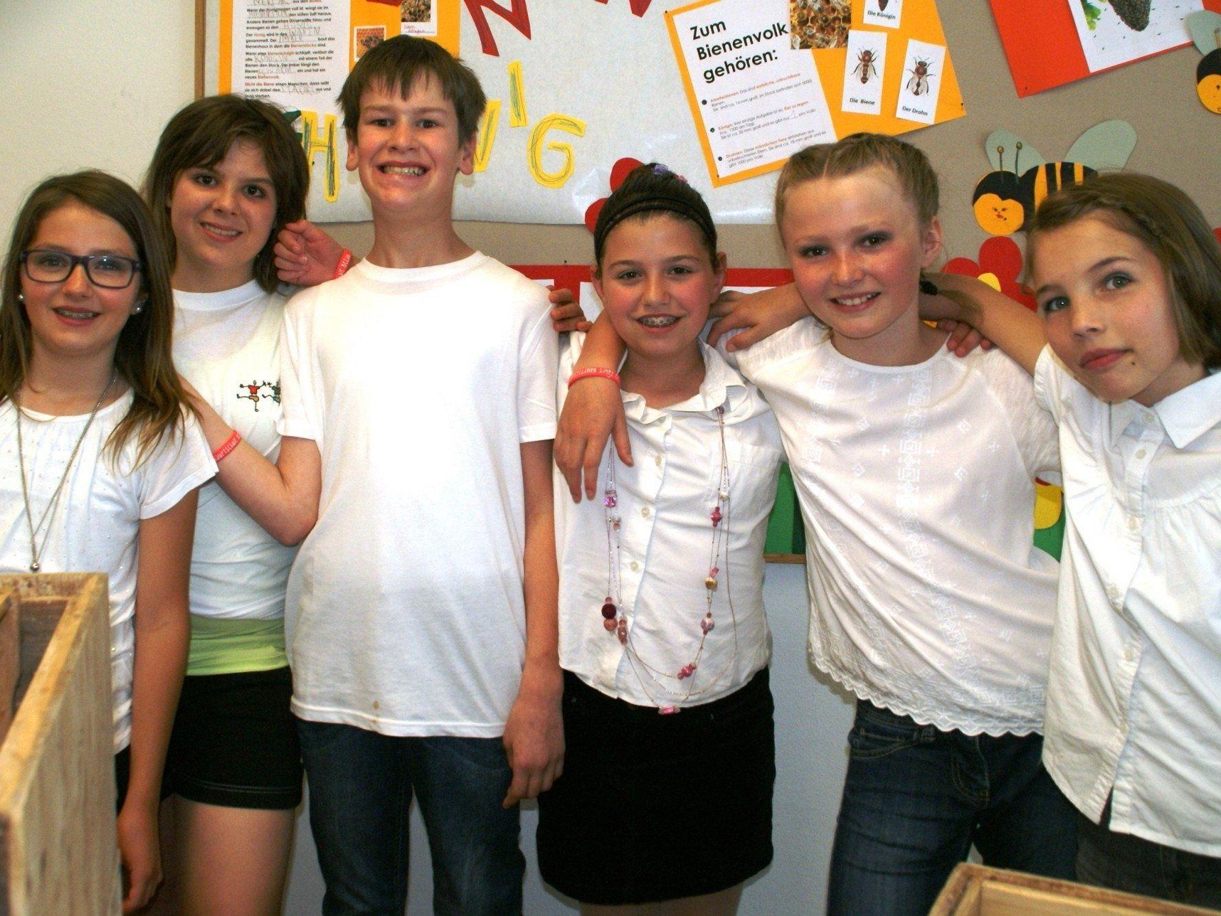 Die Schüler und Schülerinnen der Hauptschule Bezau hatten mächtig Spaß