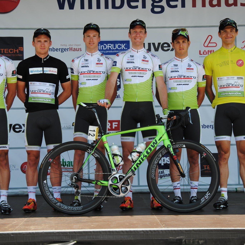Das Radteam Vorarlberg hofft bei den nationalen Straßentitelkämpfen in NÖ auf ein Edelmetall.