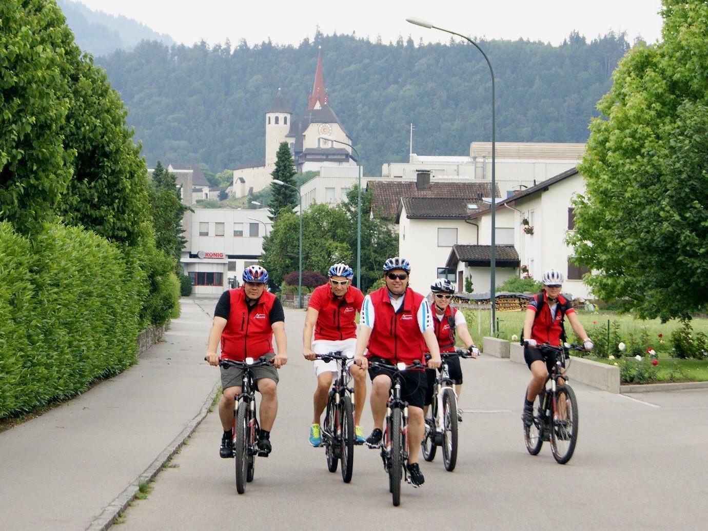 Das Montafon macht mobil in Sachen E-Bike und wurde mit einem Anerkennungspreis ausgezeichnet.