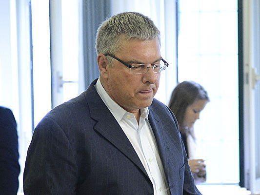Ex-FPÖ-Manager Eccher aus Vorarlberg vor Gericht.