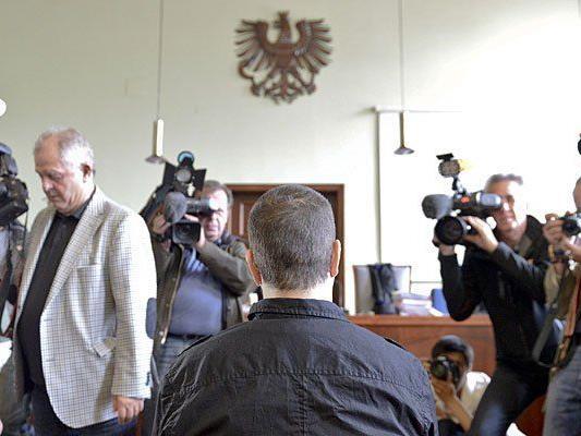 Der Angeklagte im Fall Heidrun W. vor Gericht in Wiener Neustadt