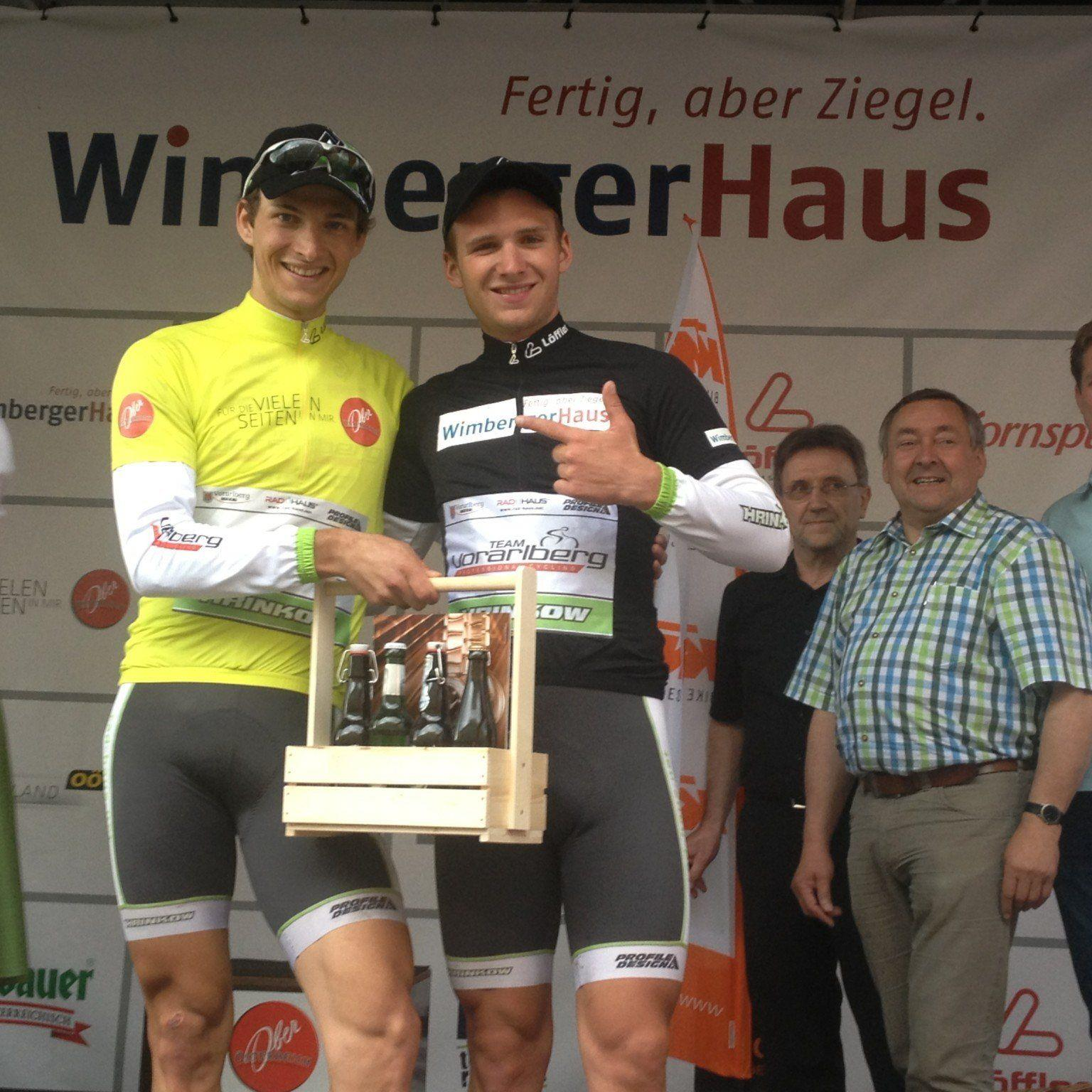 Größter sportlicher Triumph in der fünfzehnjährigen Geschichte des Radteam Vorarlberg.