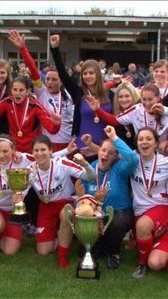 Die RW Rankweil Damen holten sich den Sieg im VFV-Cup