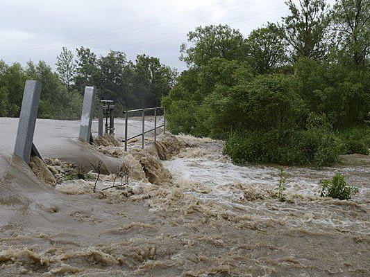 Verheerendes Hochwasser im Bezirk Amstetten